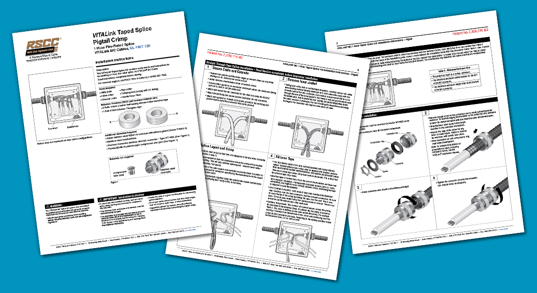 RSCC INSTALLATION SHEET | LandGraphics | print and web graphic design